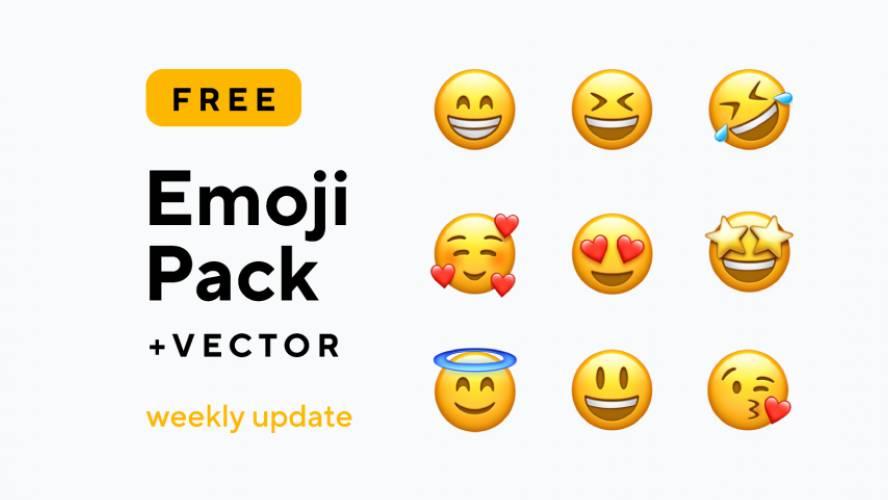Figma Emoji Pack
