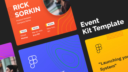 Figma Event Kit Template Free Download