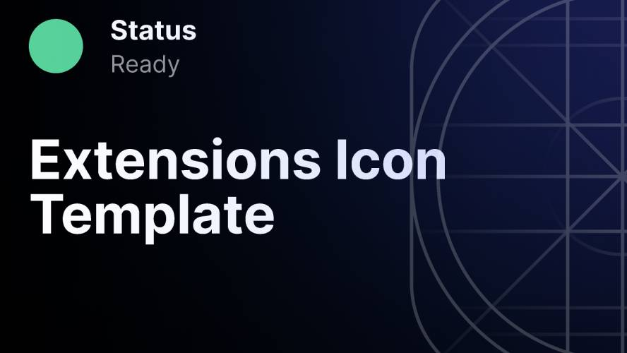 Figma Extensions Icon Template