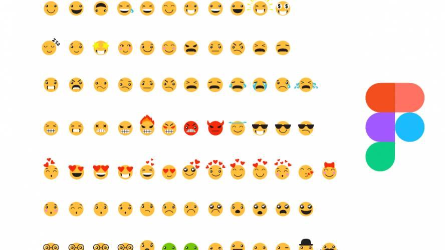 Figma Flat Emojis Free Download