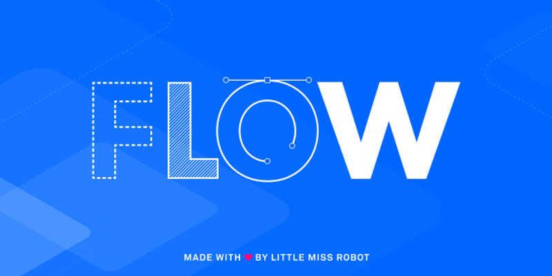 Figma FLOW Flexible Library for Optimised Wireframing