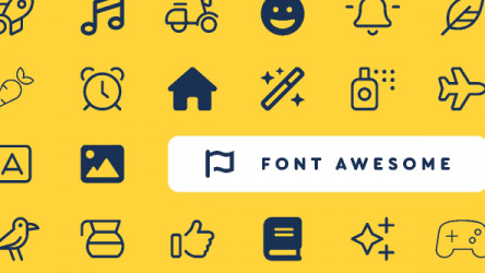 Figma Font Awesome Icon Component  (Free Download 1.6K + icons)