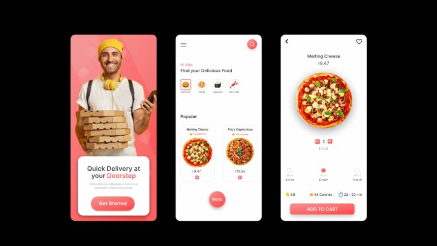 Figma Food Delivery App