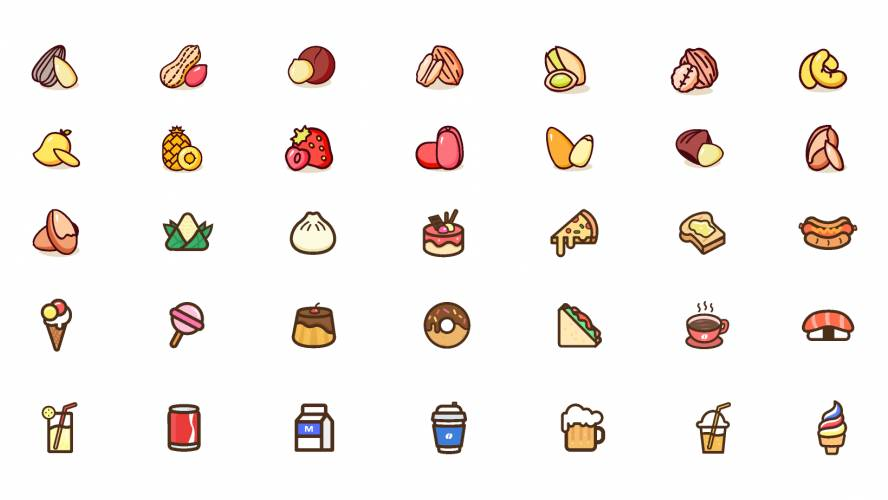 Figma Food Icons Free Download