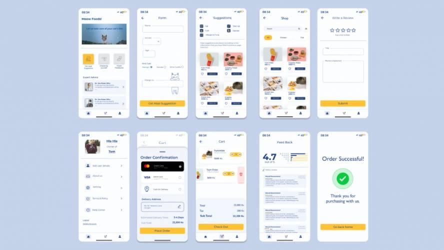 Figma Food Order App Template