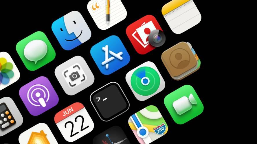 Figma Free Big Sur Icons