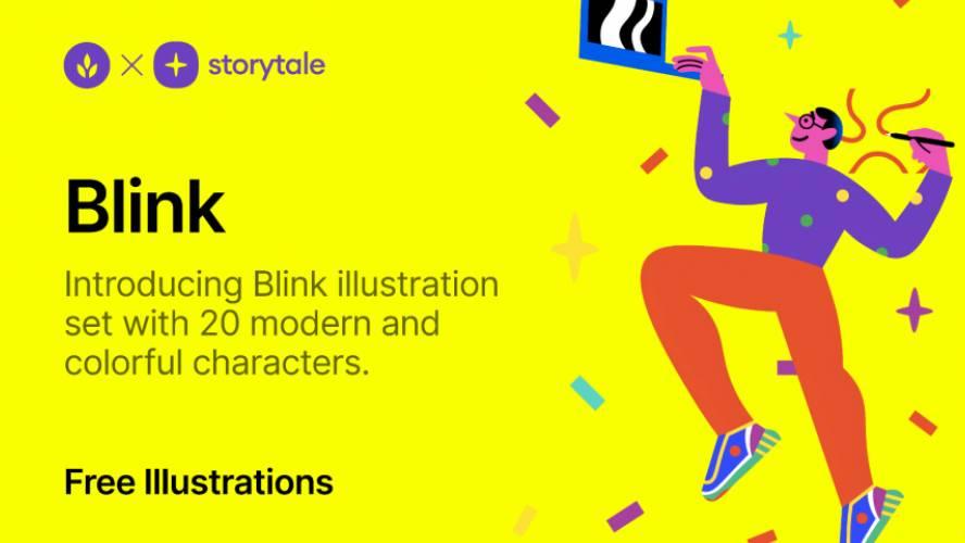 Figma Free Blink Illustrations