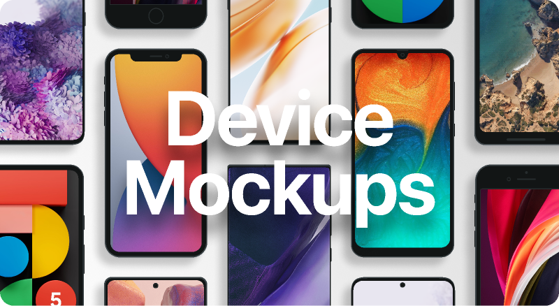 Figma Free Device Mockups