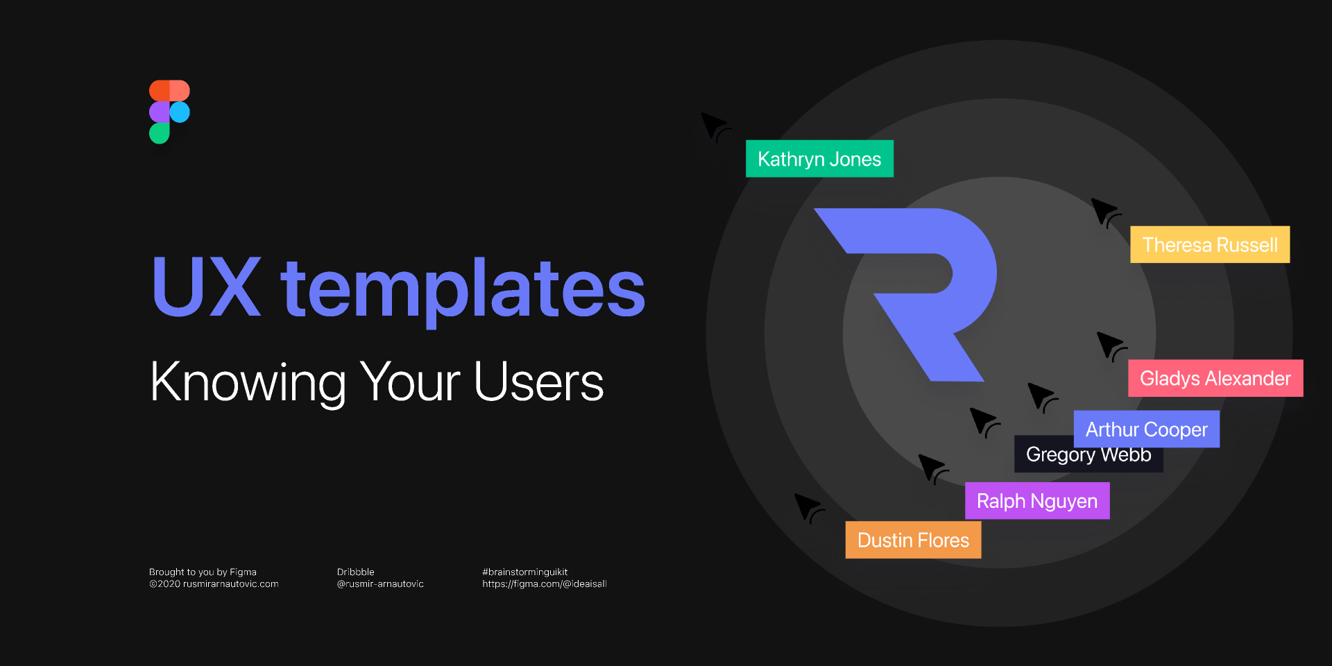 Figma Free Download Brainstorming UX templates