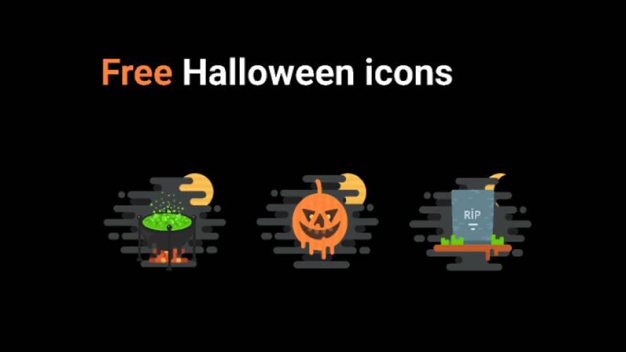Figma Free Halloween Icons