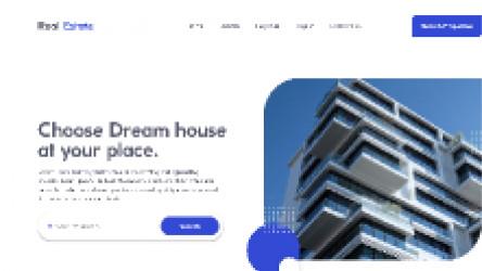 Figma Free Real estate landing page