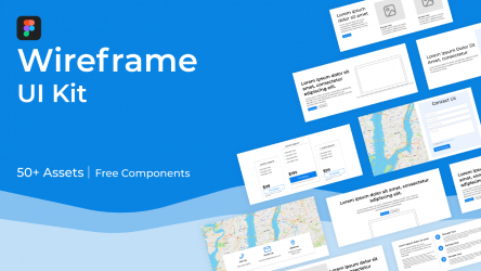 Figma Free Wireframe UI Kit Template