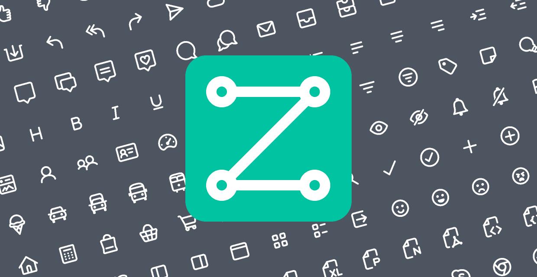 Figma free Zest Free - 200 icons!
