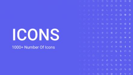Figma Freebie 1000+ Icons