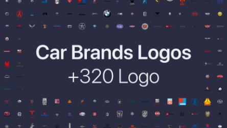 Figma Freebie 320+ Car Brands Logos