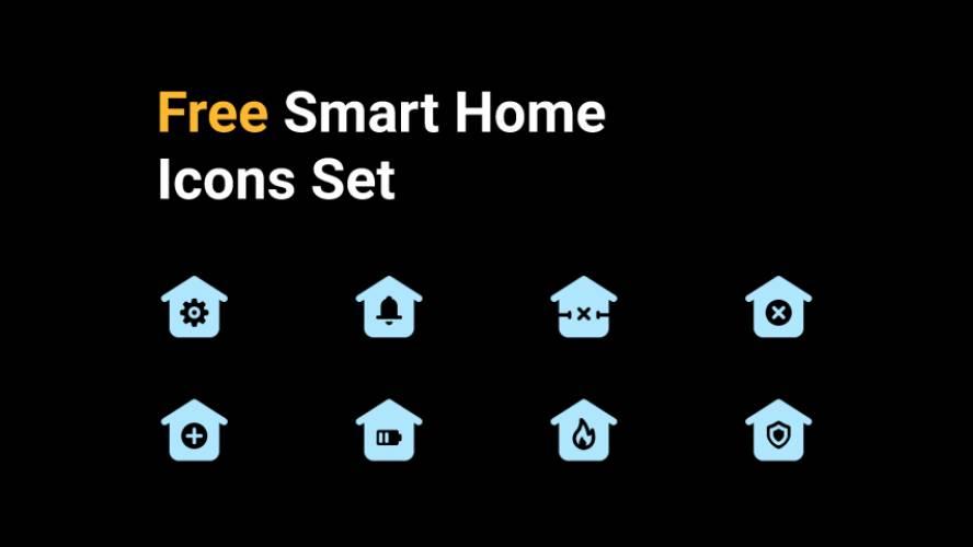 Figma Freebie Basic Smart Home Icons