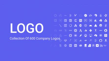 Figma Freebie Brand Icons (600+ brands)