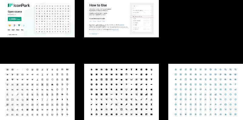 Figma freebie Bytedance-IconPark-Open Source