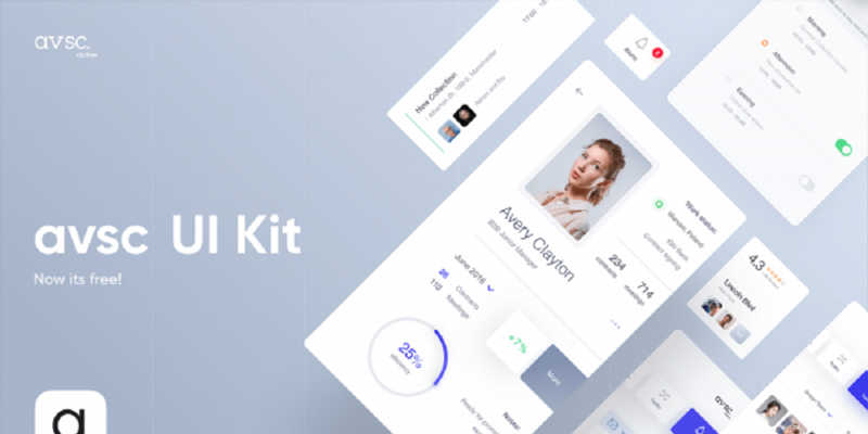 Figma Freebie Clothes UI Kit