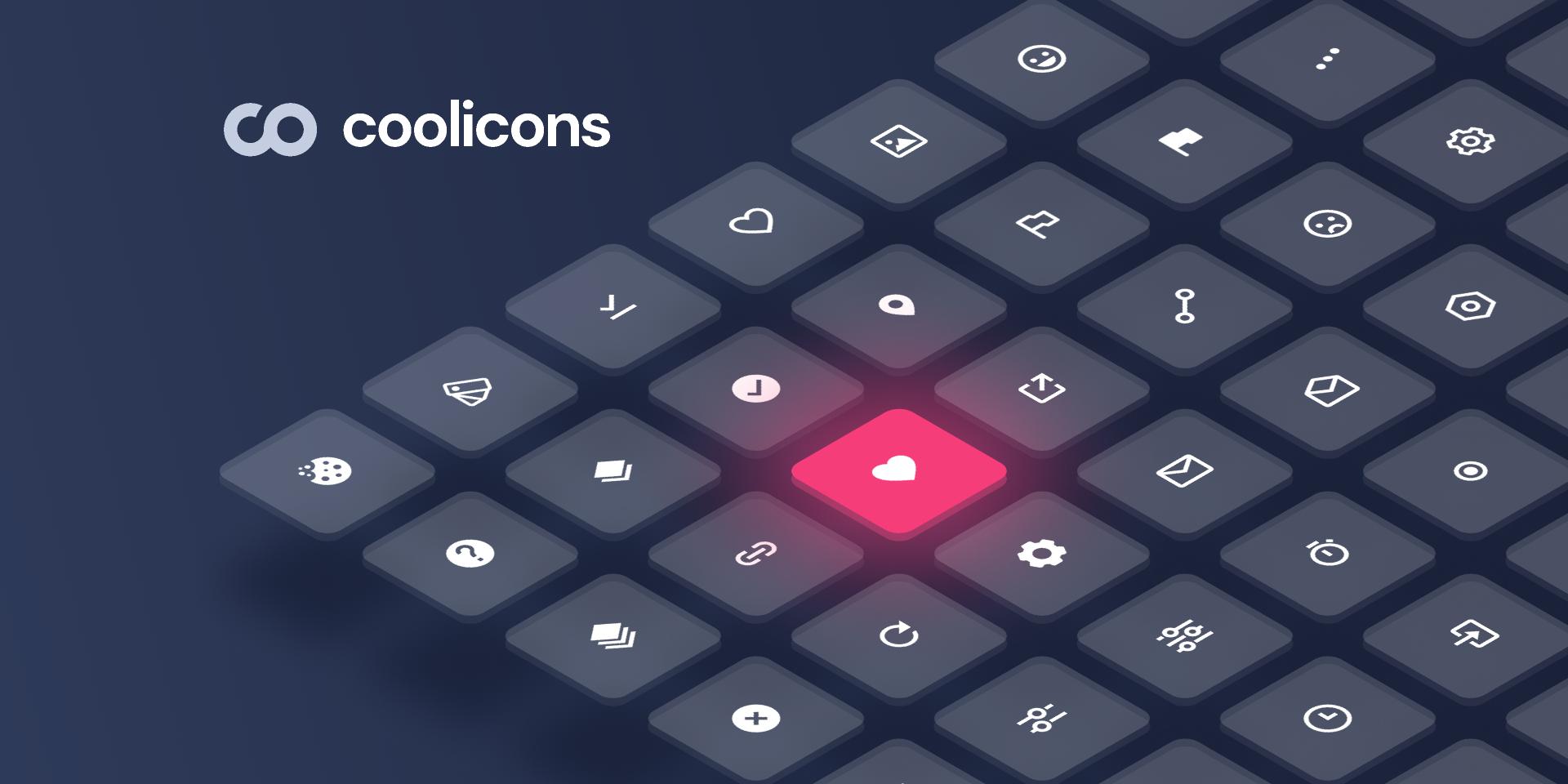 Figma Freebie coolicons | Free Iconset