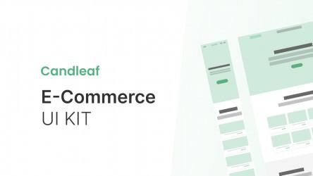 Figma Freebie E-Commerce UI KIT