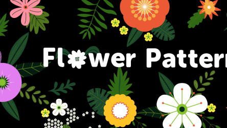 Figma Freebie Flower Patterns