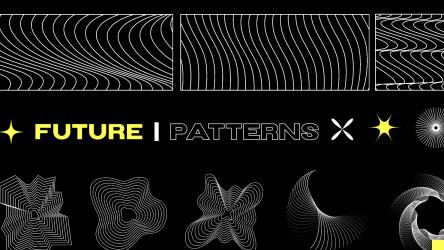 Figma Freebie Future Patterns Template