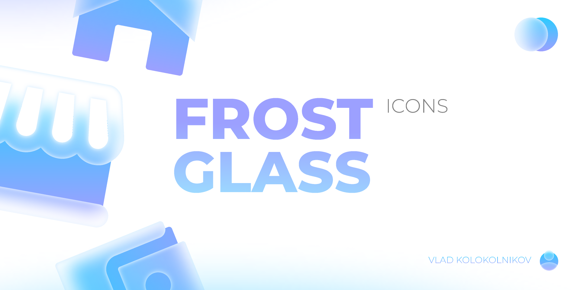 Figma freebie Glass Icons Cool