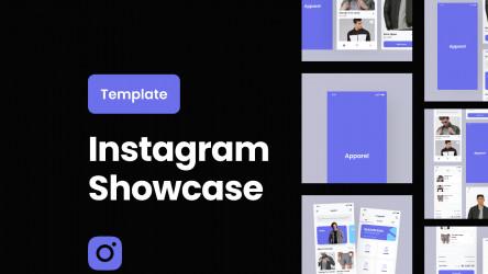 Figma Freebie Instagram Showcase
