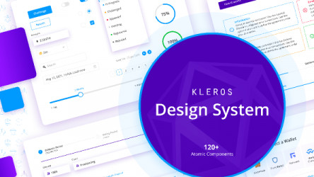 Figma Freebie Kleros Design System