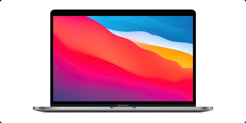 Figma freebie MacBook Pro 13 Realistic Mockup template