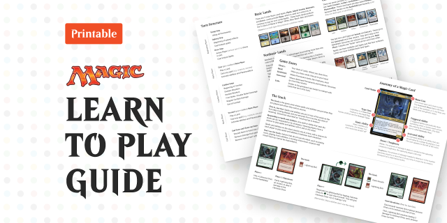 Figma Freebie Magic: the Gathering - Learn to Play Guide