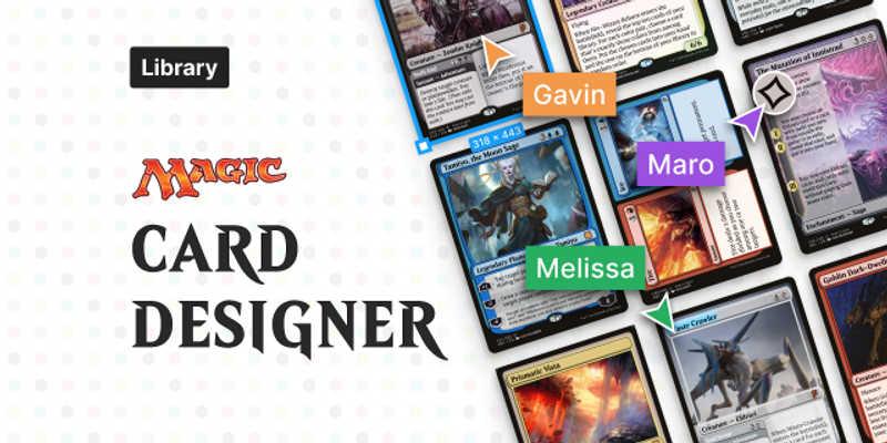 Figma Freebie Magic: the Gathering Card Designer MTG