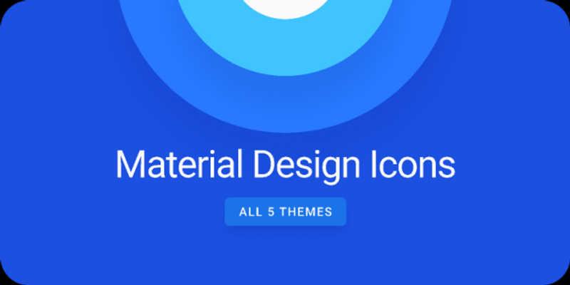 Figma Freebie Material Design Icons