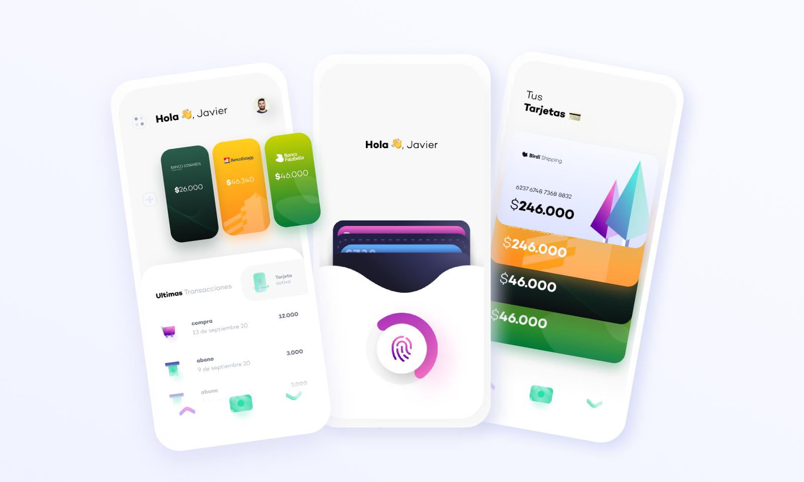 Figma freebie pay app UI Birdi Pay