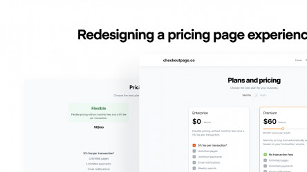 Figma freebie Pricing Page Experience template