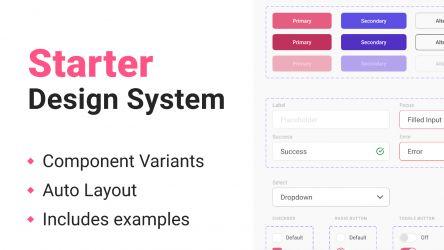 Figma Freebie Starter Design System