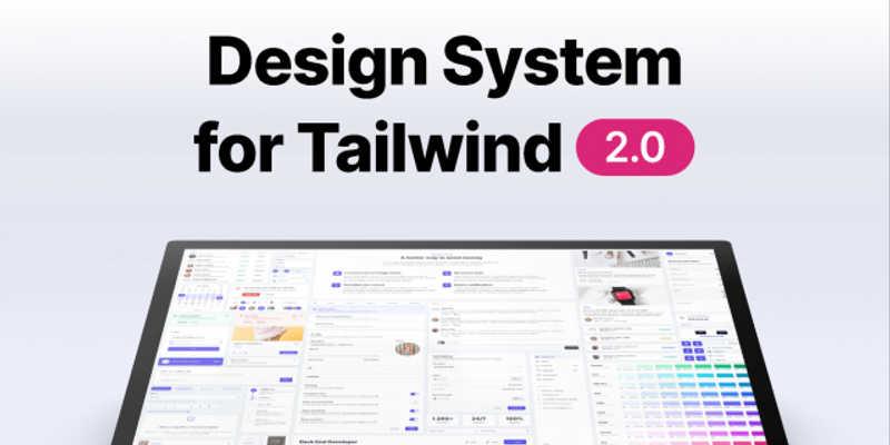 Figma Freebie Tailwind Design System 1.0 (Demo)