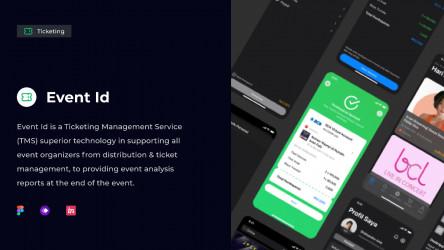 Figma Freebie Ticketing Management Service