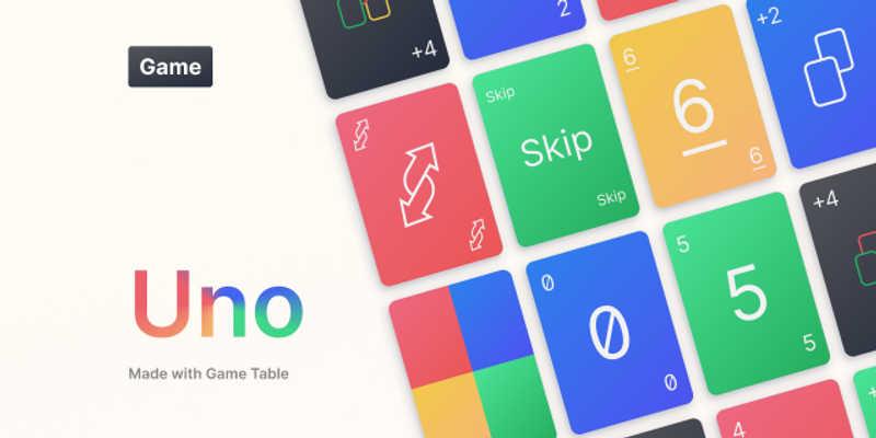 Figma Freebie Uno Card Game
