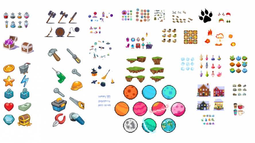 Figma game corner elements