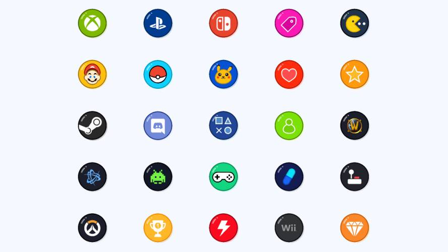 Figma Game Icons Free Download