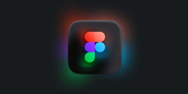 Figma Glow Icon - MacOS Big Sur figma free