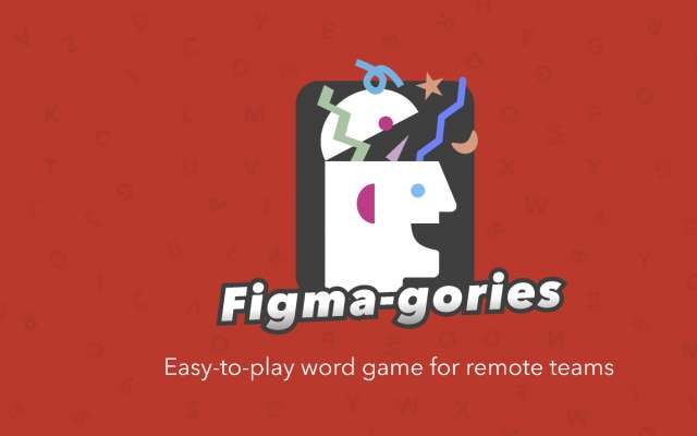 Figma-Gories figma game ui