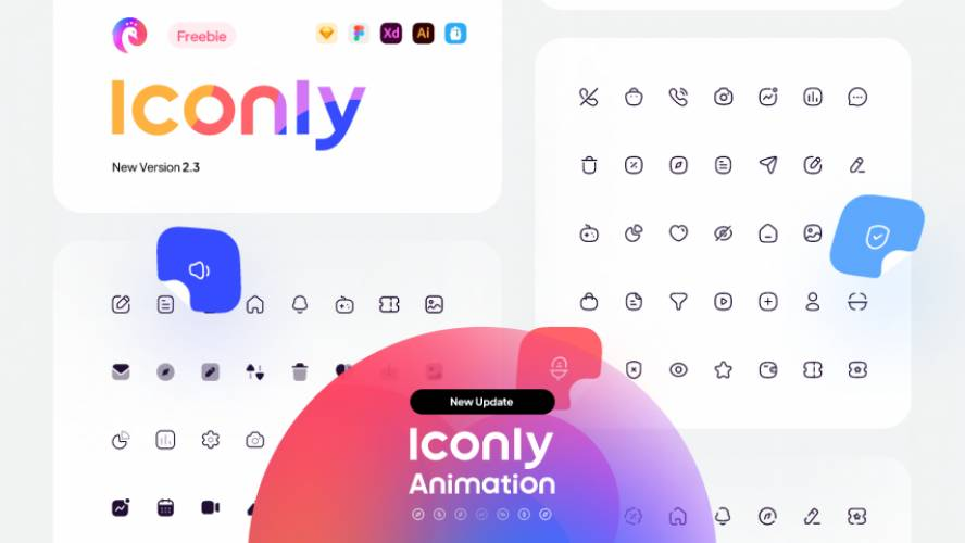 Figma icon Iconly 2 - Essential icons