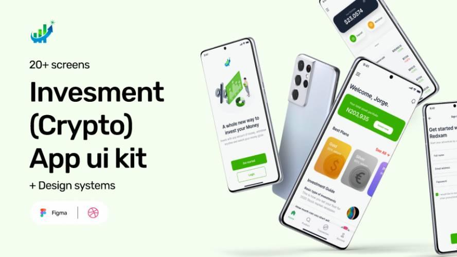 Figma Investment(Crypto) App Ui Kit