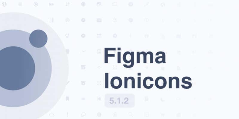 Figma Ionicons [5.1.2] (Free icon)