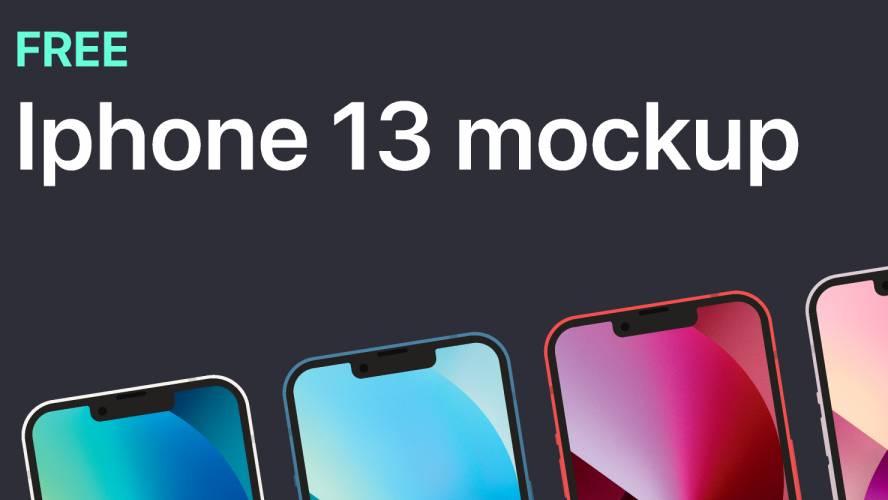 Figma iPhone 13 Mockup