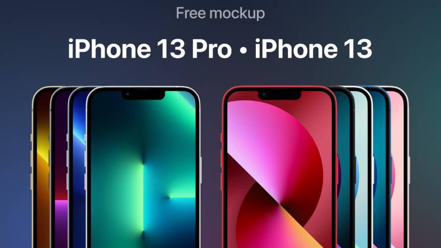 Figma iPhone 13 Pro iPhone 13 Mockups
