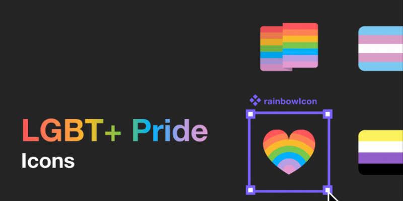 Figma LGBT+ Pride Icons